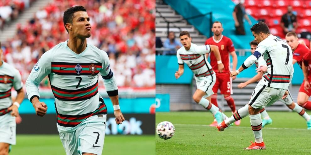 Euro2020, per Ronaldo doppietta e record! Superato Platini