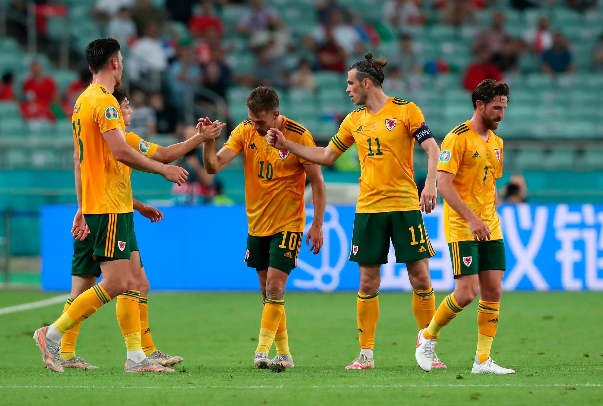 Il Galles abbraccia Ramsey: in gol nel 2-0 alla Turchia