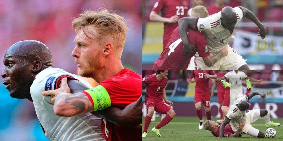 "Danimarca-Belgio, scintille da ""derby"" tra Kjaer e Lukaku"