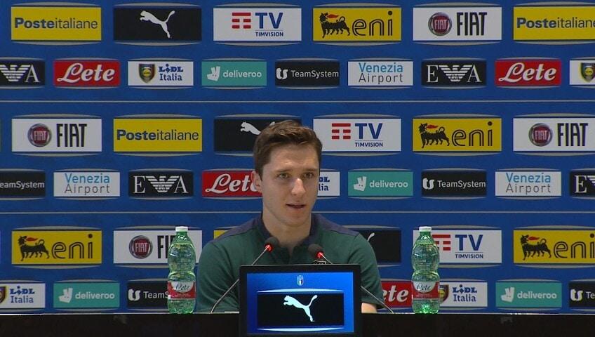 """Chiesa: """"In Nazionale porto la mentalità vincente della Juve"""""""