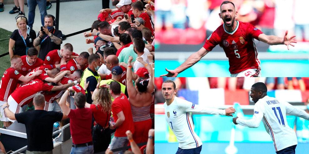 Davide ferma Golia. La Francia di Pogba fa 1-1 con l'Ungheria