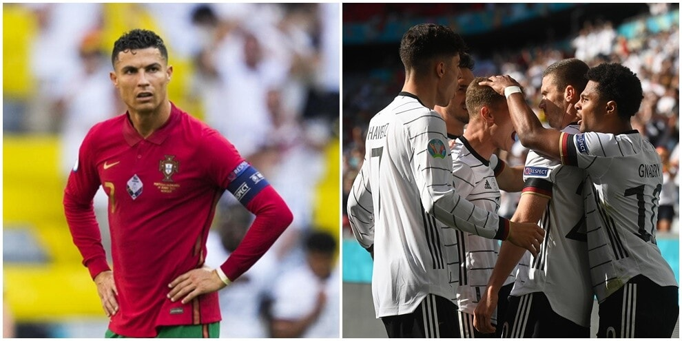Euro2020, Portogallo-Germania 2-4: super Gosens, Ronaldo in gol ma sconfitto