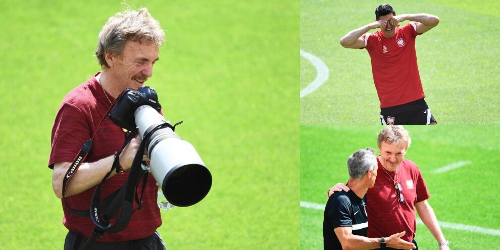 Euro 2020, Boniek fotografa la Polonia. Lewandowski scoppia a ridere