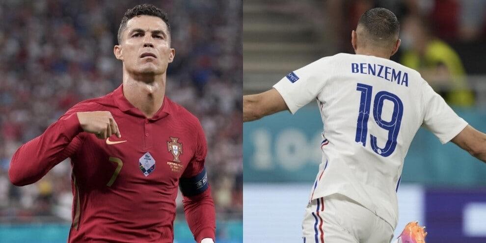 Ronaldo da record, Benzema show: Portogallo e Francia agli ottavi