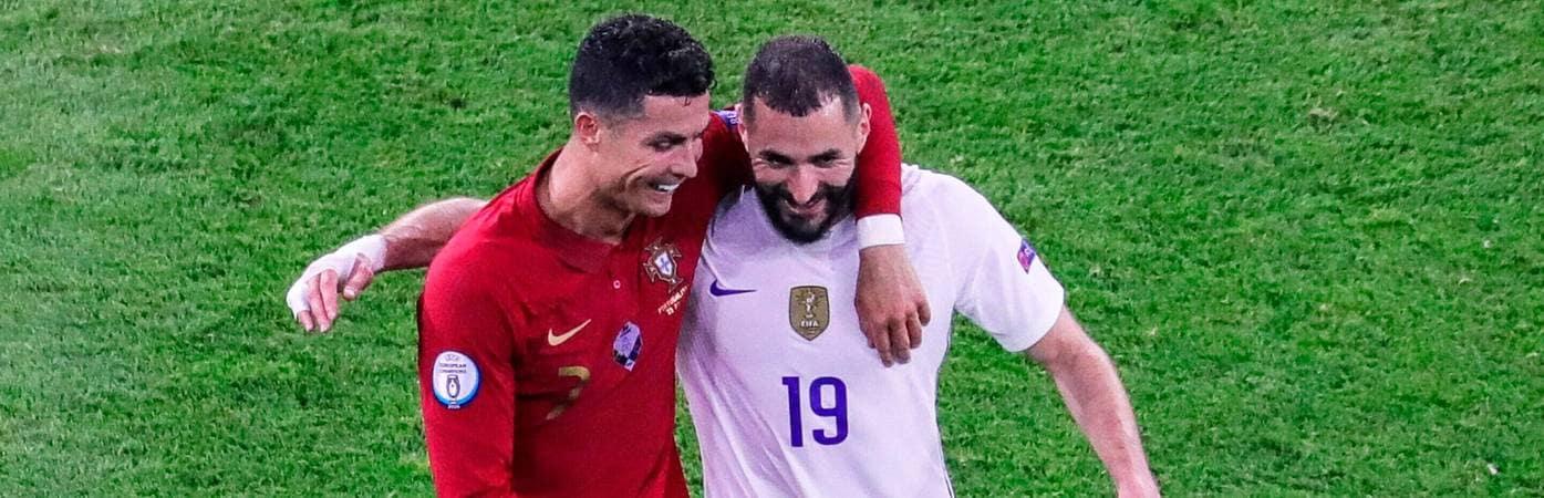 """Benzema: """"È stato bello rivedere Cristiano Ronaldo"""""""