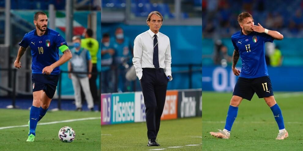 Euro 2020, Mancini e la probabile formazione anti Austria