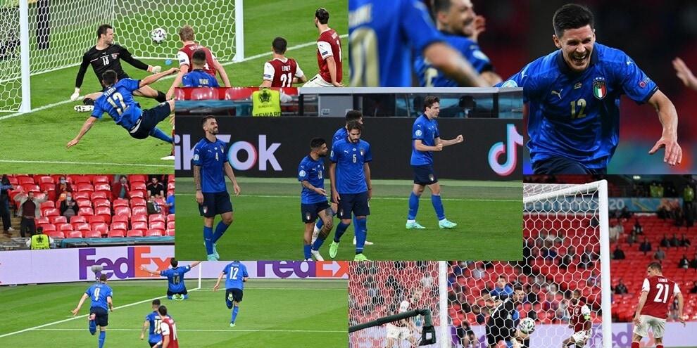 Chiesa e Pessina trasformano l'Italia: Mancini ai quarti di Euro2020