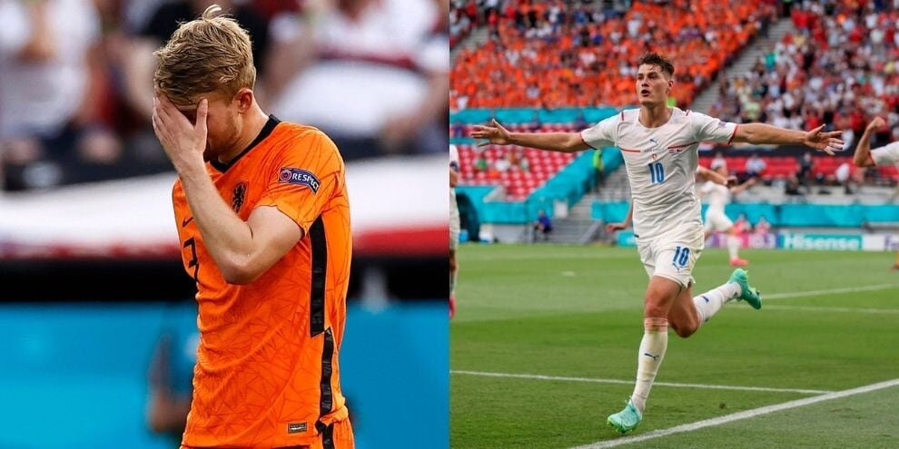 De Ligt: che pasticcio! Olanda in dieci eliminata dalla Repubblica Ceca