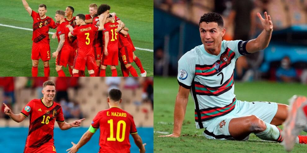 Il lampo di Hazard condanna Ronaldo. Contro l'Italia c'è il Belgio