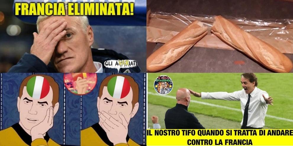 Euro 2020, Francia eliminata e italiani scatenati: che ironie sui social!