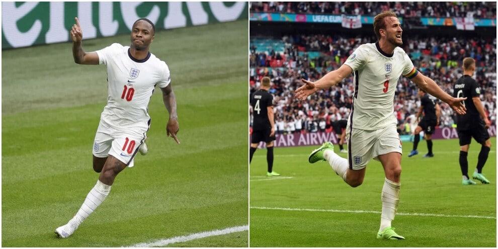 Sterling e Kane trascinano l'Inghilterra: Germania eliminata