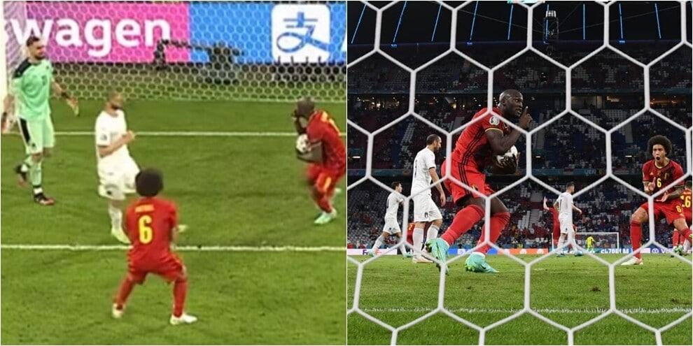 Italia-Belgio, Lukaku batte Donnarumma su rigore e lo zittisce
