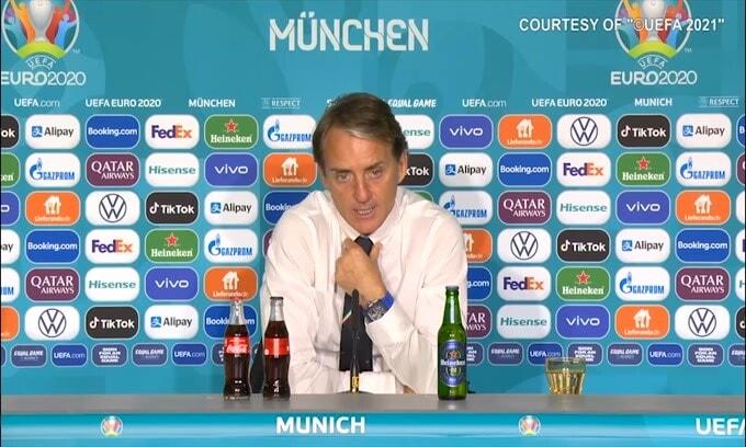 """Mancini: """"É un orgoglio allenare questa squadra"""""""