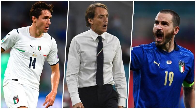 Euro 2020, la formazione ufficiale di Mancini per Italia-Spagna