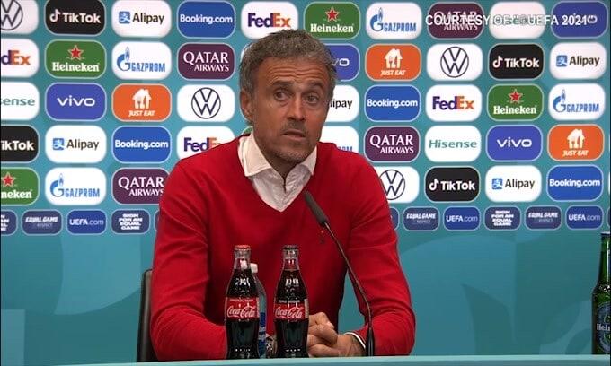 """Luis Enrique: """"Non dobbiamo disperarci per la sconfitta"""""""