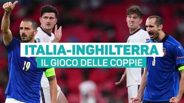Italia-Inghilterra: il gioco delle coppie