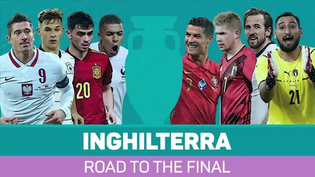 Inghilterra, la strada verso la finale