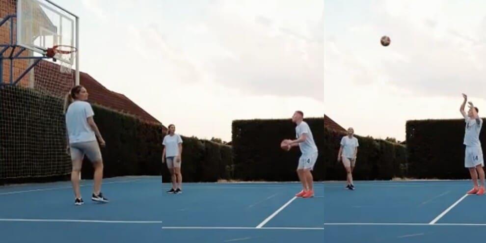 Juve, Kulusevski si allena giocando a basket