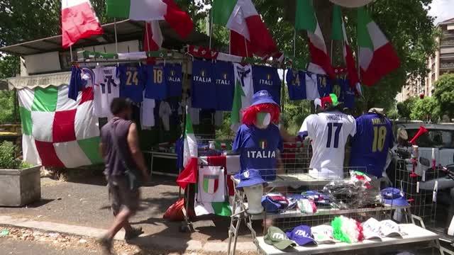 Italia-Inghilterra, Roma si prepara alla finale