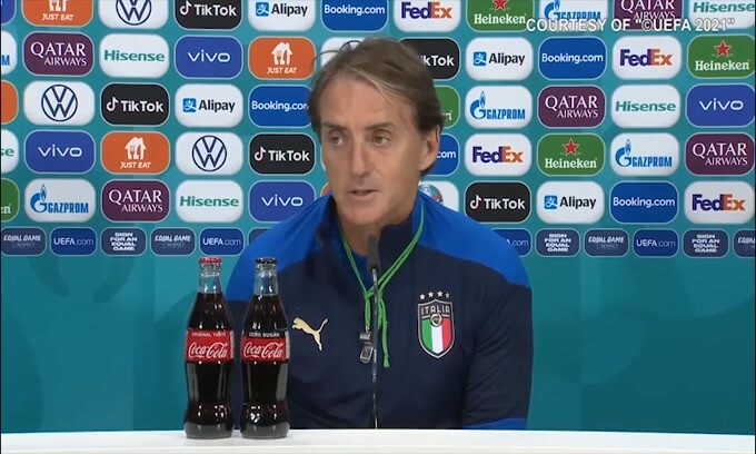 """Mancini: """"Non sono agitato, magari domani lo sarò"""""""