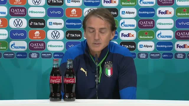 """Il rispetto di Mancini: """"Sterling, Kane... Inghilterra fortissima"""""""
