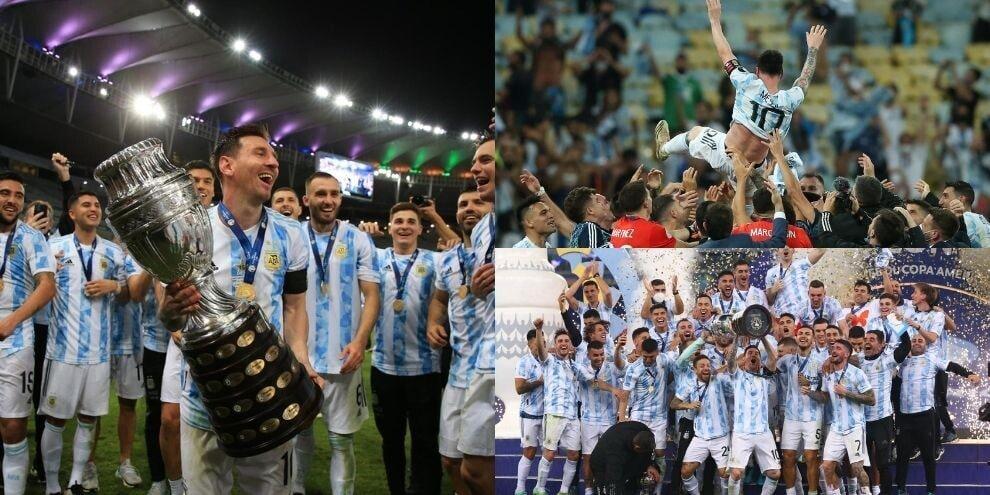 Messi trionfa con l'Argentina: delirio albiceleste al Maracanà