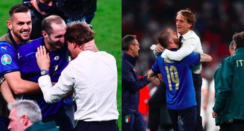 Mancini, che emozione: in lacrime dopo il trionfo in finale