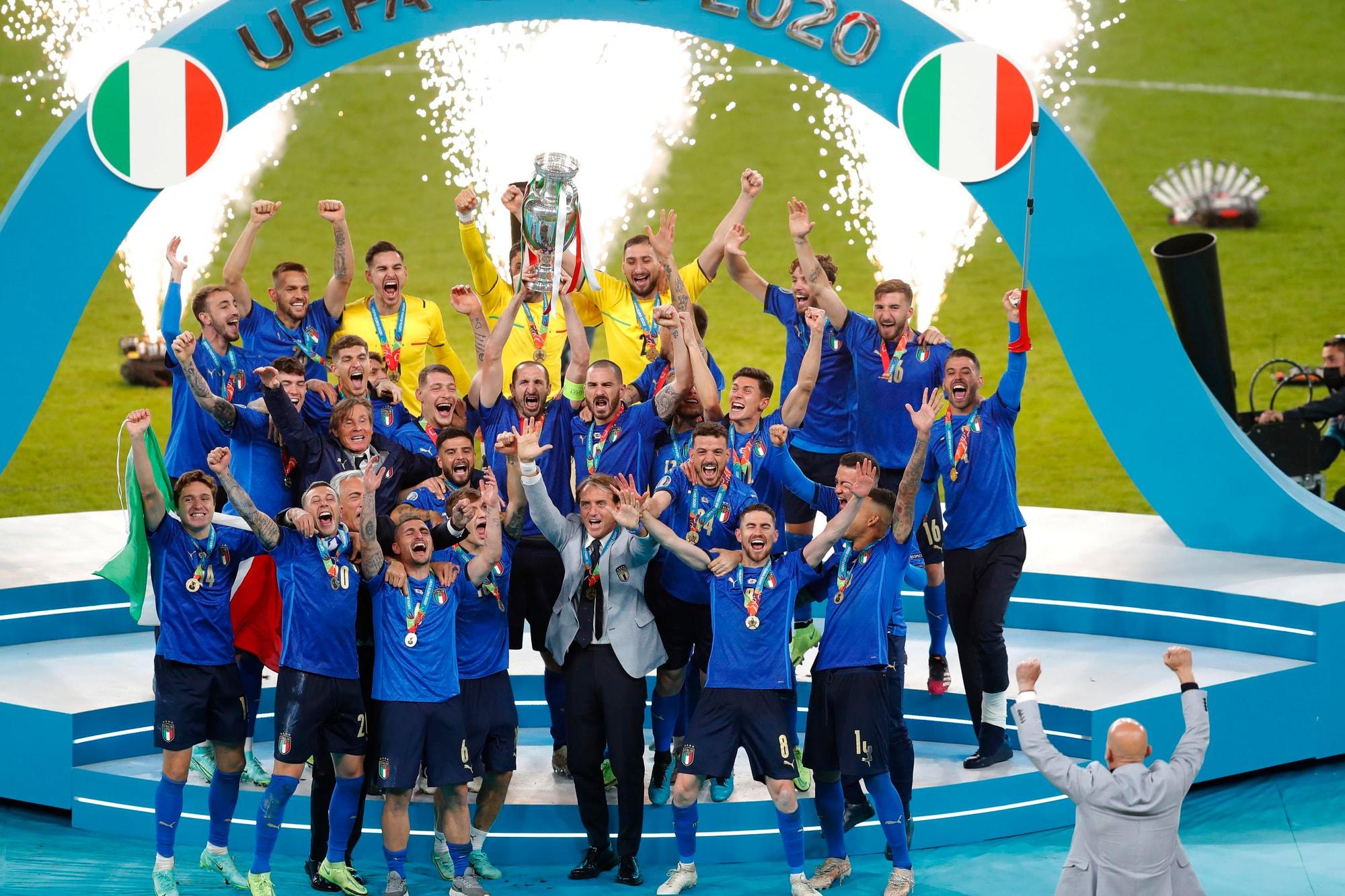 Euro 2020, Donnarumma e Jorginho: oro puro. Il pagellone dell'Italia