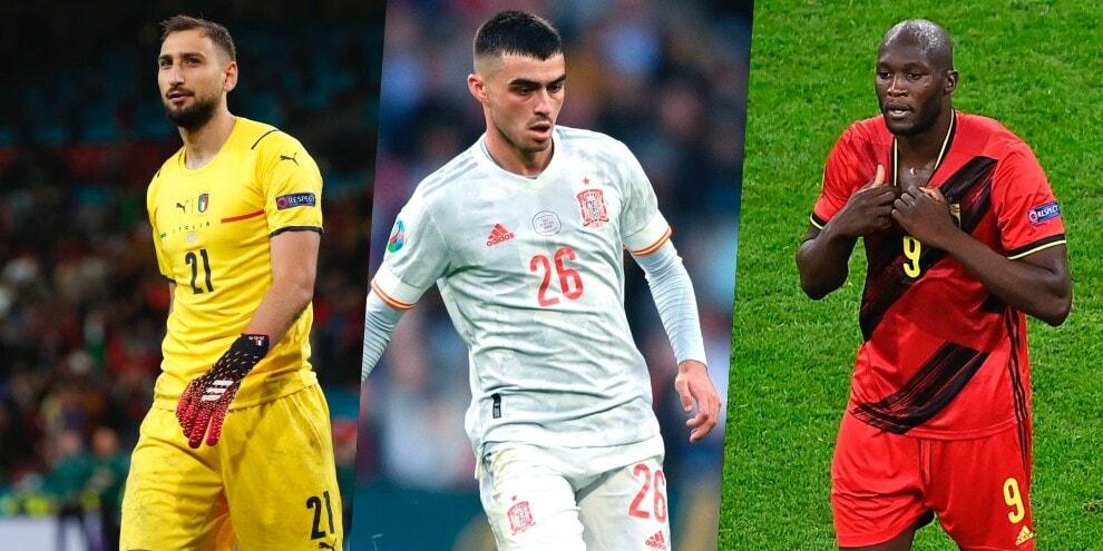 Euro 2020, da Donnarumma a Lukaku: la top 11. Assente Ronaldo