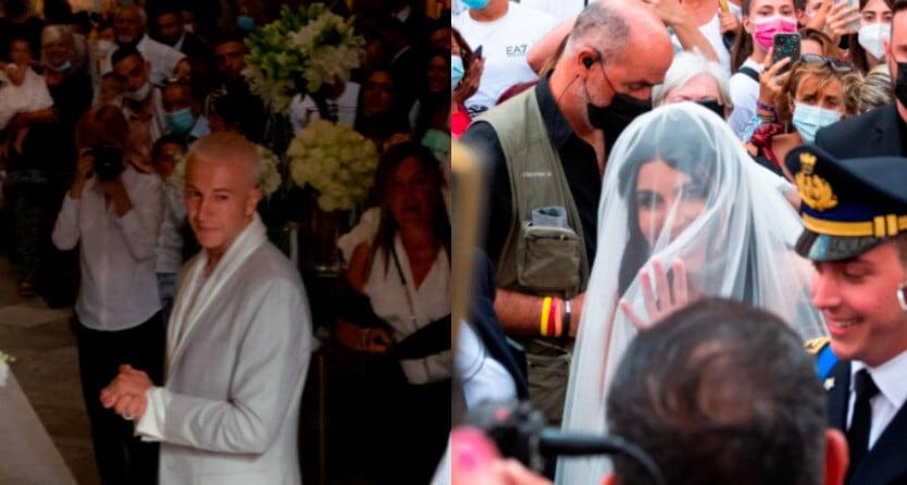 Bernardeschi si sposa, le foto del matrimonio con Veronica