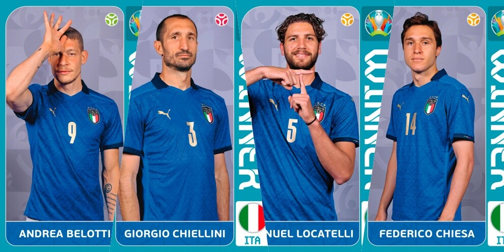 L'Italia in figurine Panini: ecco tutte le card da collezionare