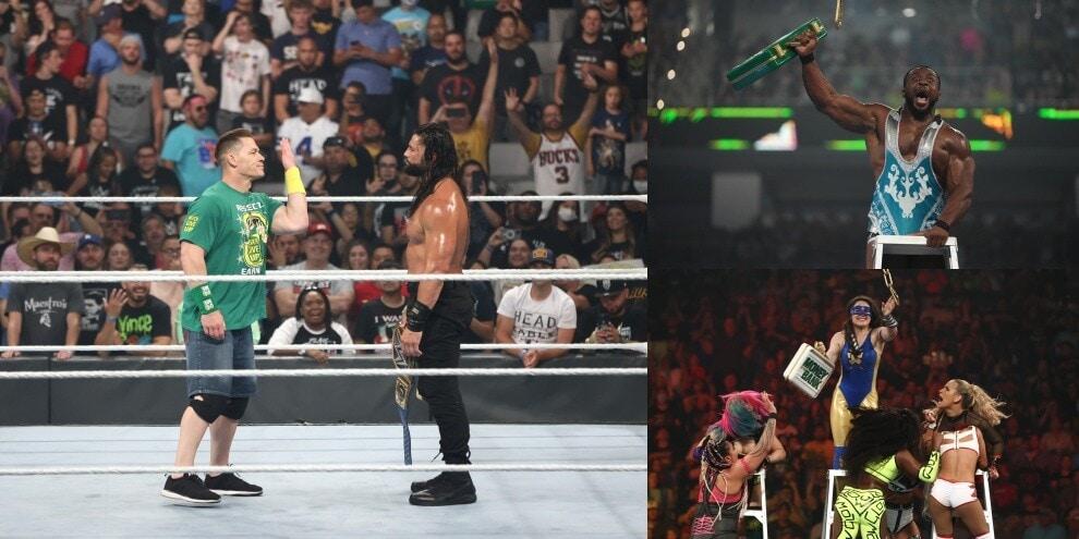 Money in the Bank, valigette a Nikki e Big E! Il ritorno di John Cena