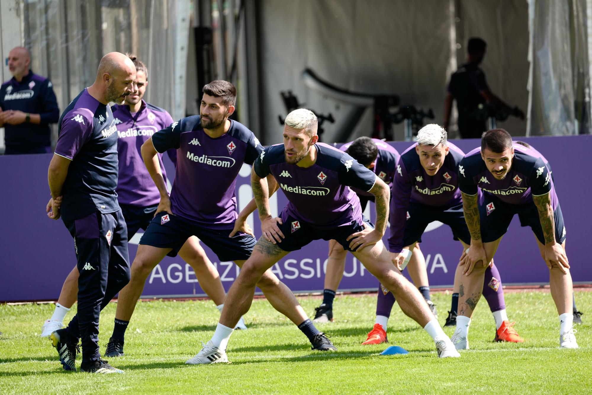 Fiorentina a Moena: allenamento per la prima uscita stagionale