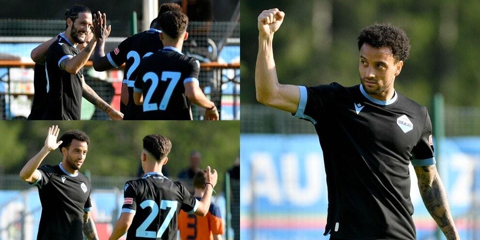 Sarri si gode Luis Alberto e Felipe Anderson: Lazio show in amichevole