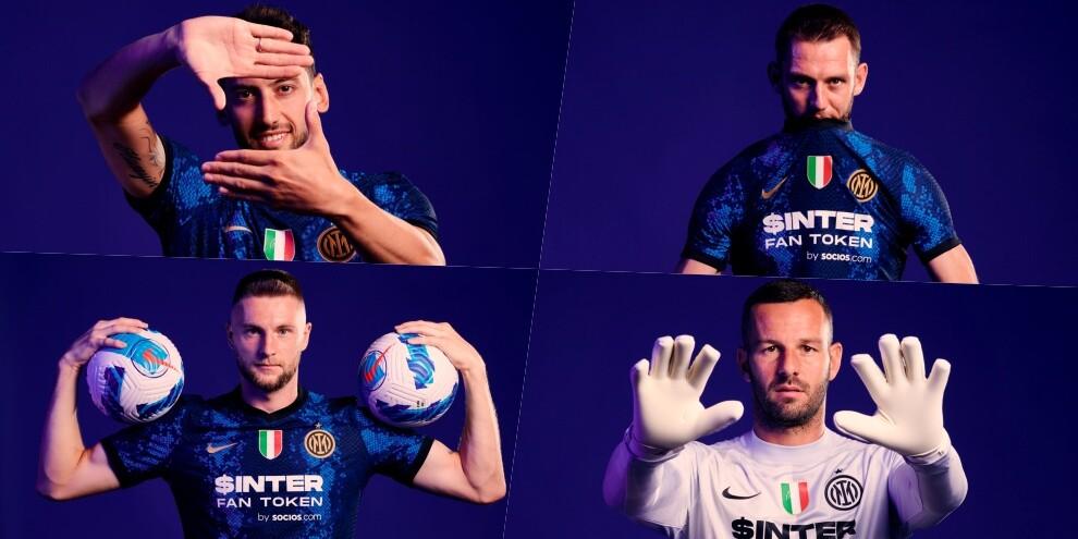 Ecco il nuovo sponsor dell'Inter sulla maglia 2021-2022