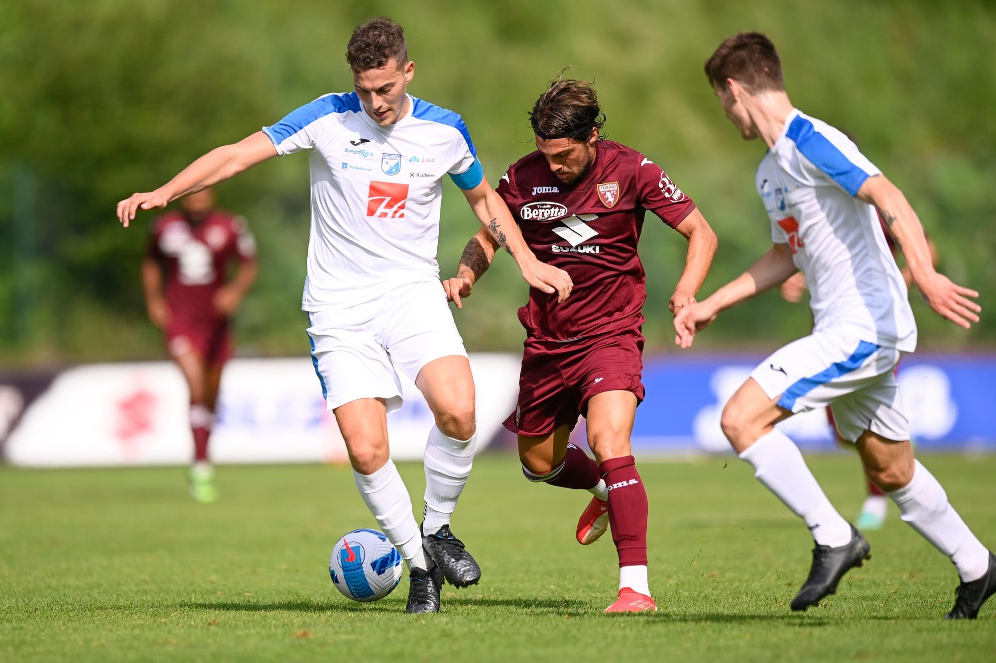 Torino, pokerissimo al Brixen: Verdi, Baselli e Zaza in gol