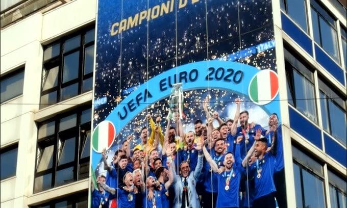 Italia Campione d'Europa, la Figc si rifà il look