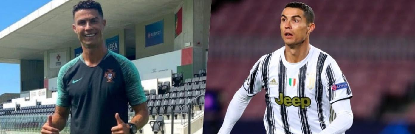 Adesso Cristiano Ronaldo dica qualcosa di bianconero…