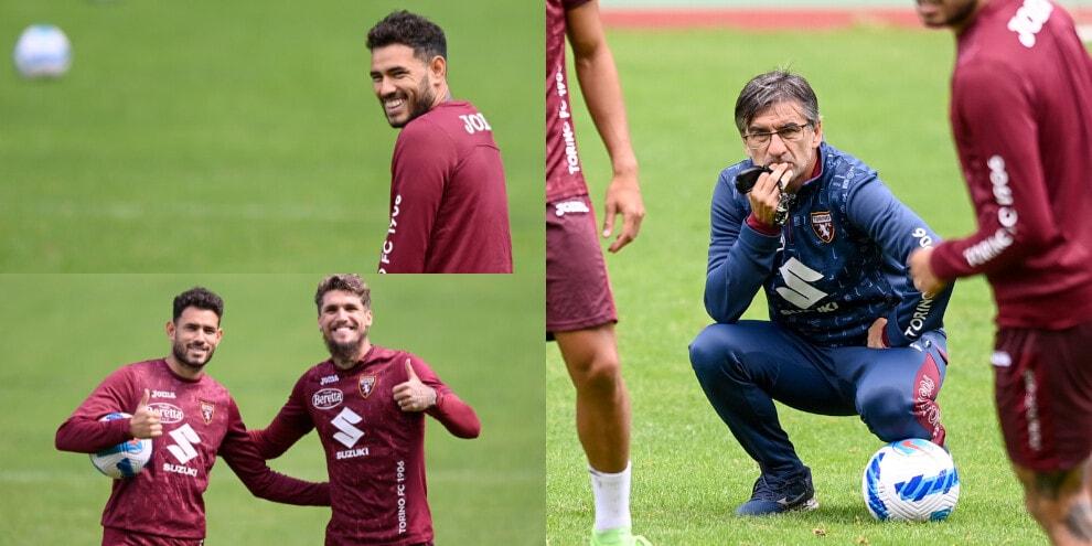 Torino, i sorrisi di Sarabia. Juric osserva con attenzione