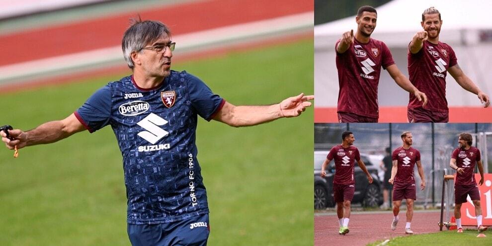 Torino, la carica di Ansaldi e Mandragora sotto gli occhi di Juric