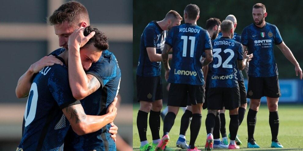 Inter, 6 gol al Crotone: Calhanoglu è già in versione campionato