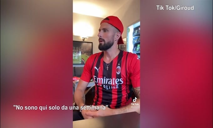 Milan, Giroud parla già italiano..