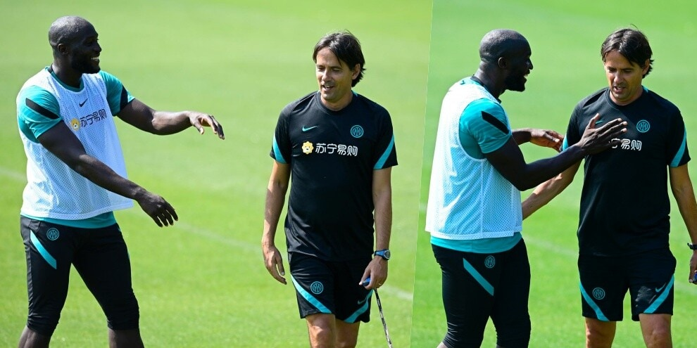 Inzaghi e Lukaku, cresce l'intesa all'Inter