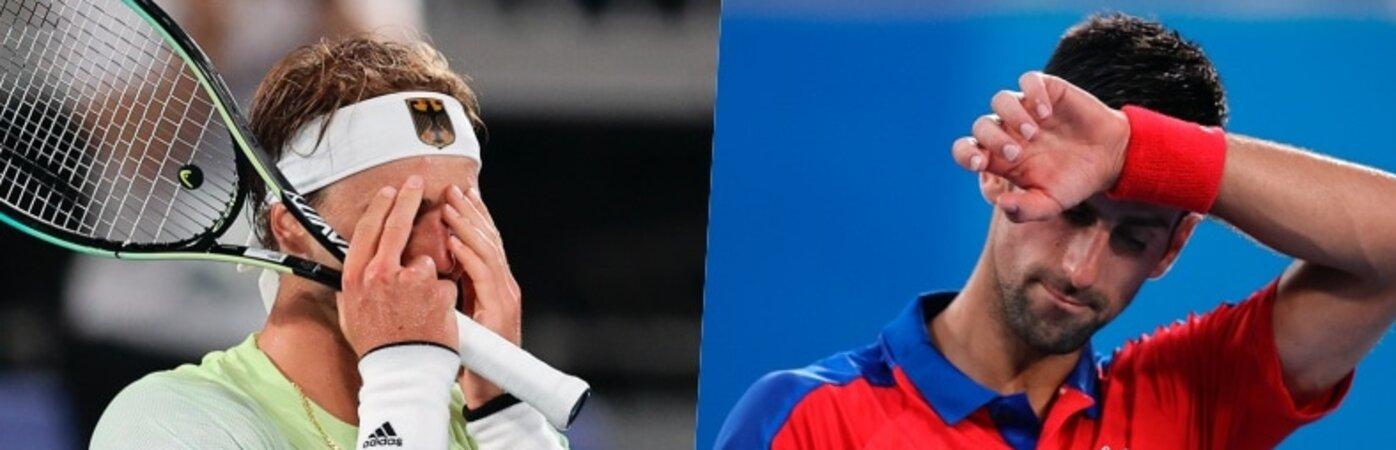 Djokovic fuori dalla finale: sfuma il Golden Slam. Zverev vince e sfiderà Khachanov per la medaglia d'oro!