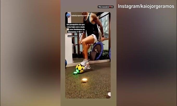 In attesa della Juve, Kaio Jorge si allena
