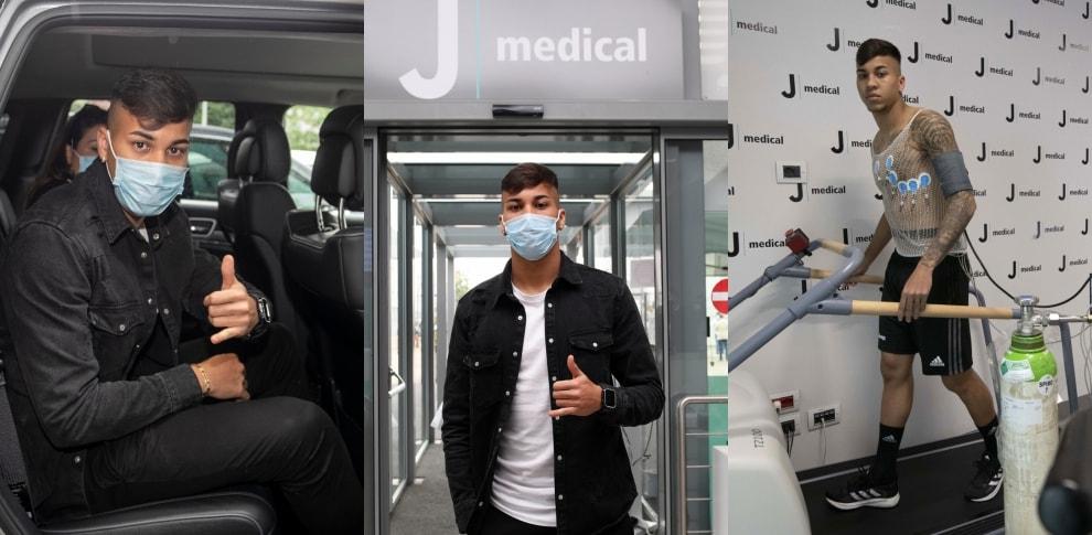 Juve, Kaio Jorge è arrivato a Torino
