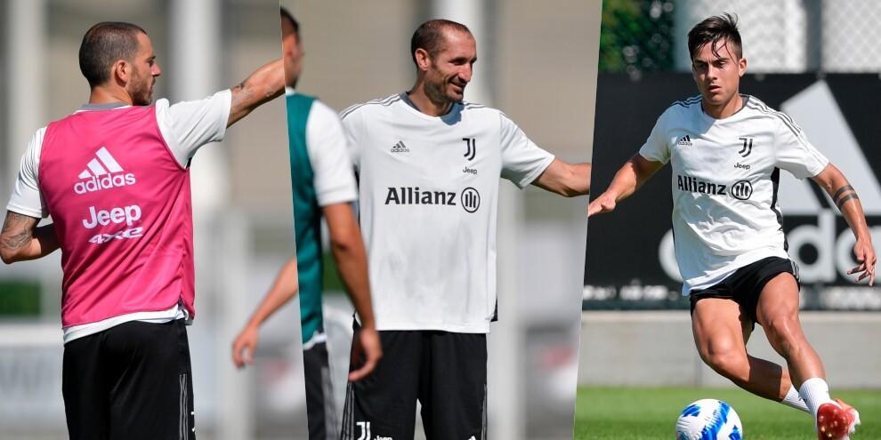 Bonucci e Chiellini blindano la Juve, davanti ci pensa Dybala
