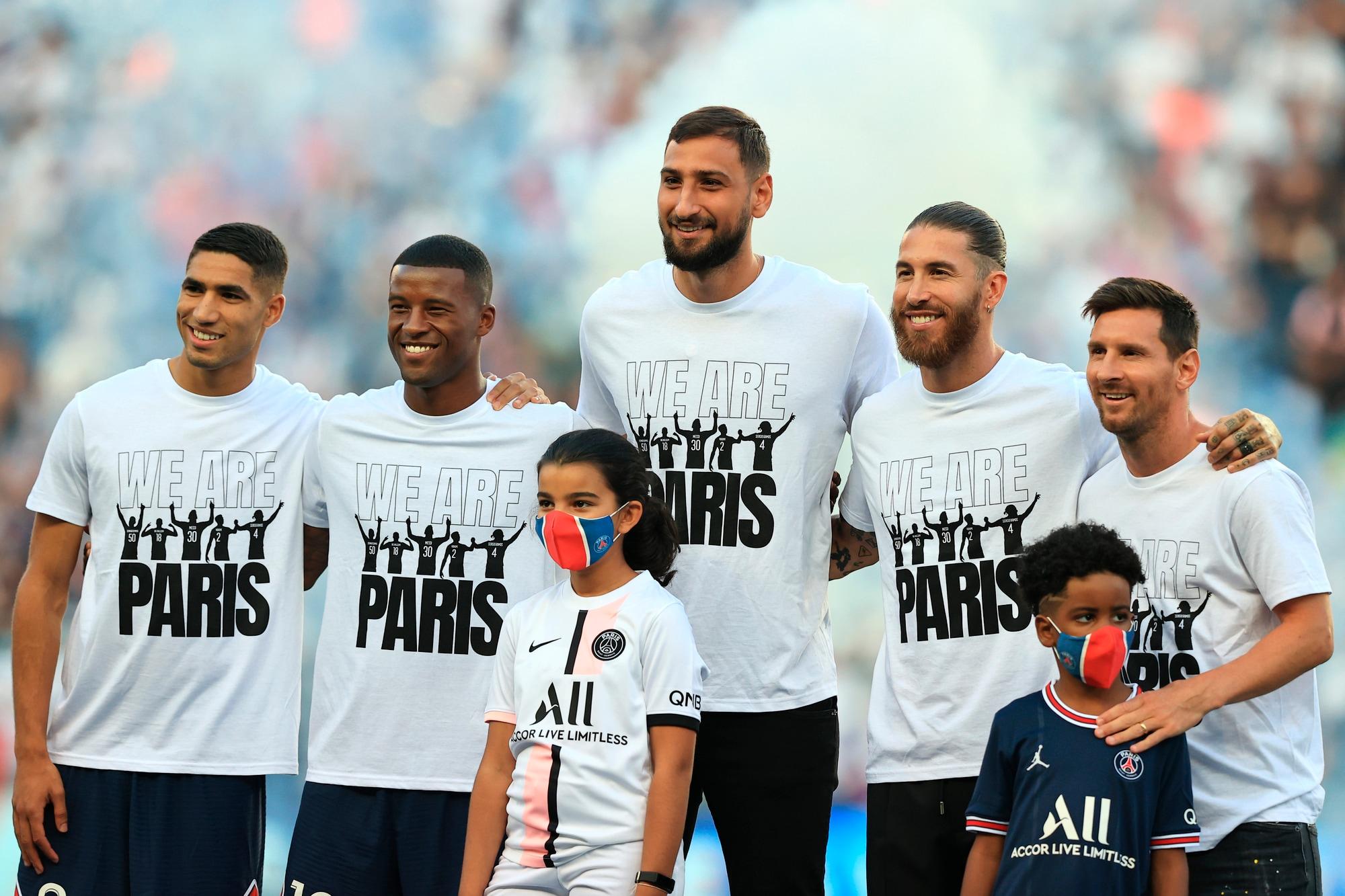 Psg, da Messi a Donnarumma: prima volta al Parco dei Principi