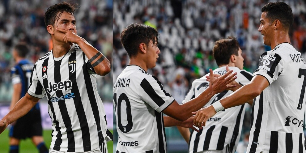 Dybala torna ed è subito show: in gol nel 3-1 all'Atalanta