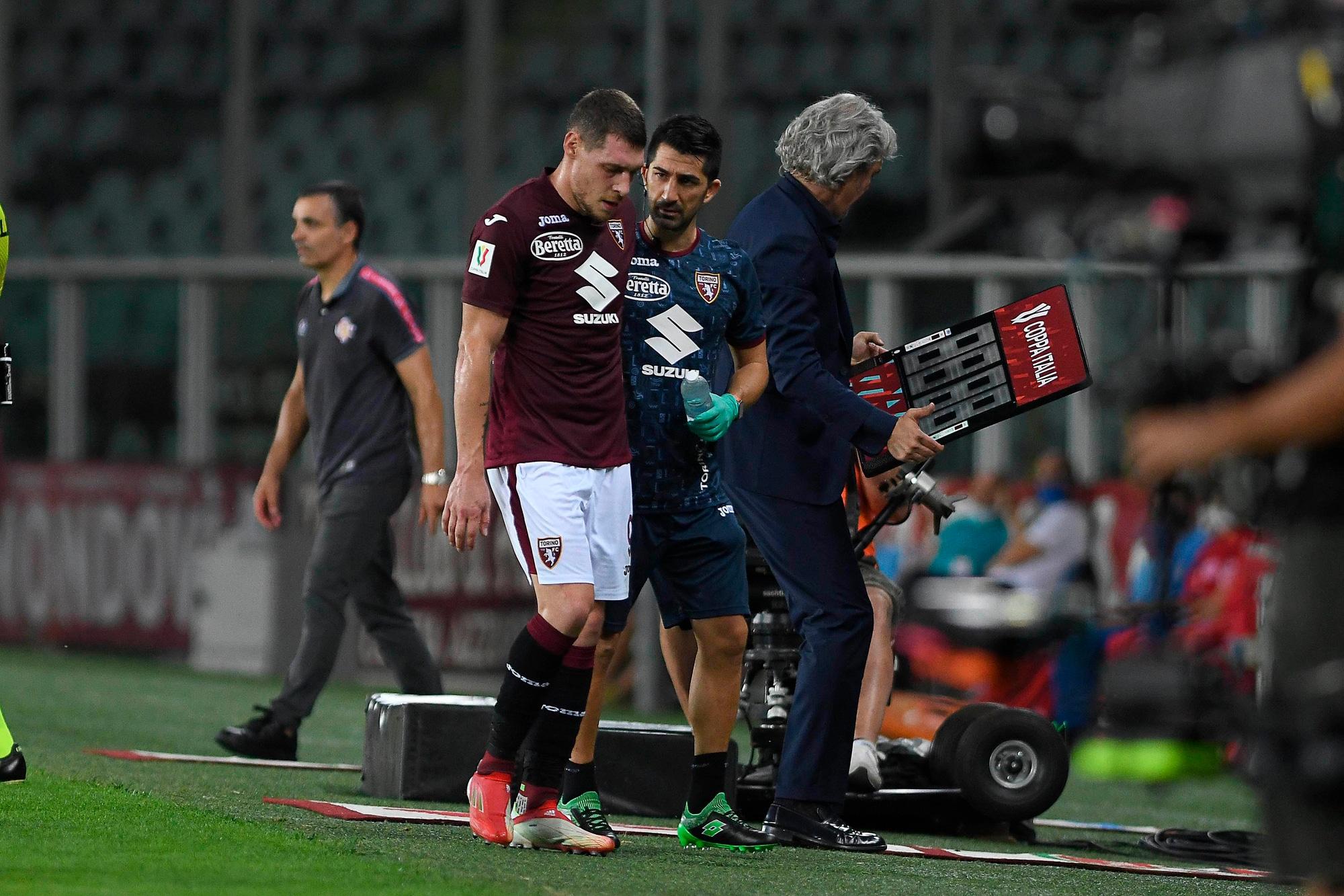 Toro, Belotti ko in Coppa Italia esce sconsolato